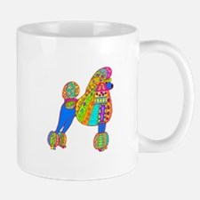 Pretty Poodle Design Mug