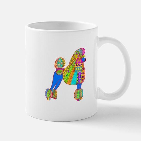 Pretty Poodle Design Mug