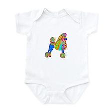 Pretty Poodle Design Infant Bodysuit