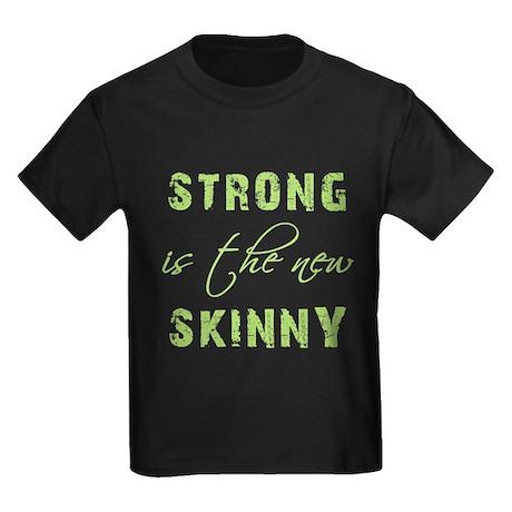 STRONG IS... Kids Dark T-Shirt