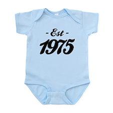 Established 1975 - Birthday Infant Bodysuit