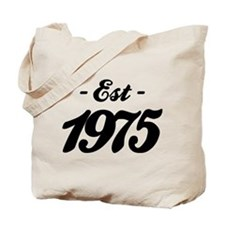 Established 1975 - Birthday Tote Bag