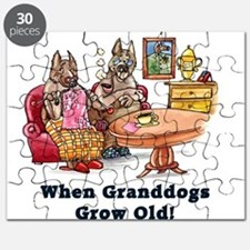 When Granddogs Grow Old Puzzle