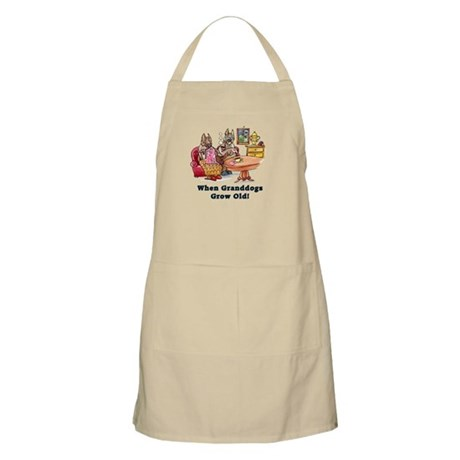 When Granddogs Grow Old Apron