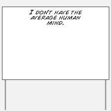 Funny I don%27t mind Yard Sign