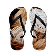 Cute Craft Flip Flops
