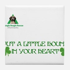 St. Patrick's Day Front Tile Coaster