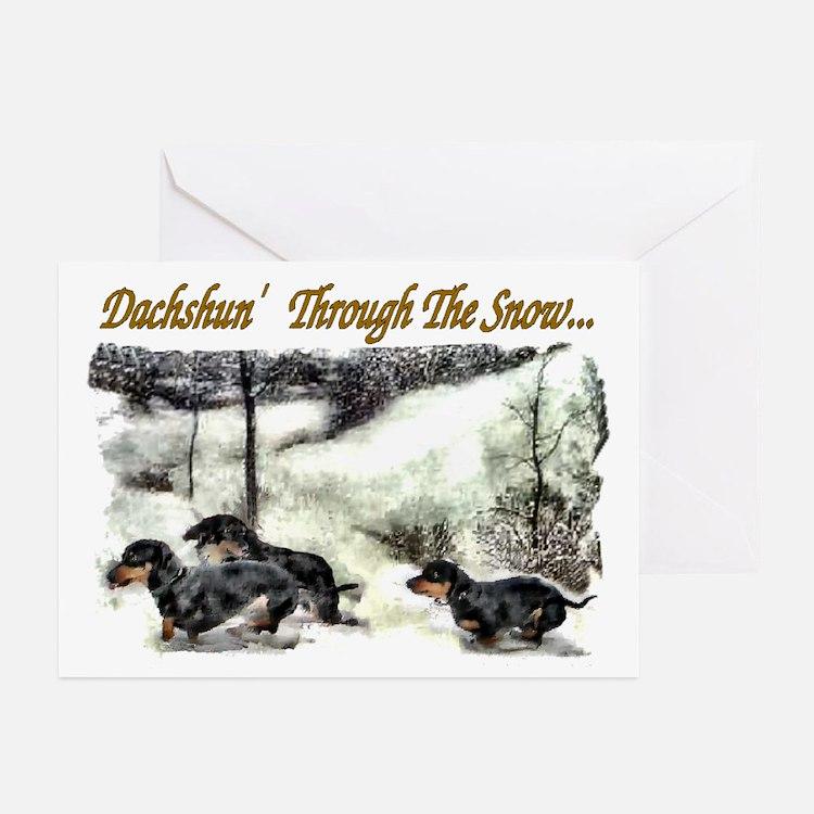 Dachshund Christmas Greeting Cards (Pk of 10)