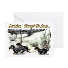 Dachshund Christmas Greeting Cards (Pk of 20)