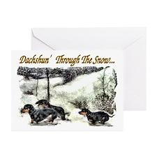 Dachshund Christmas Greeting Cards (Pk of 20)