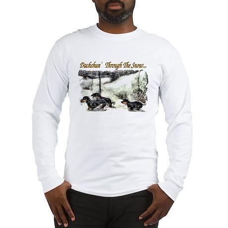 Dachshund Christmas Long Sleeve T-Shirt