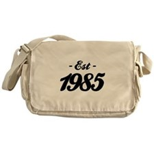 Established 1985 - Birthday Messenger Bag