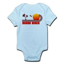 Miami Beach Florida Infant Bodysuit