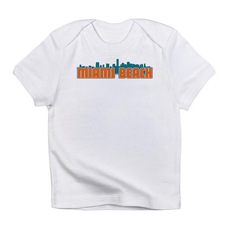 Miami Beach Skyline Infant T-Shirt