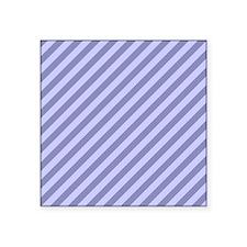 """Purple Stripes. Square Sticker 3"""" x 3"""""""