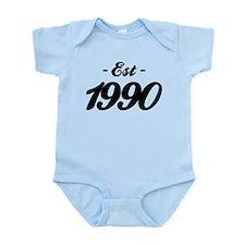 Established 1990 - Birthday Infant Bodysuit