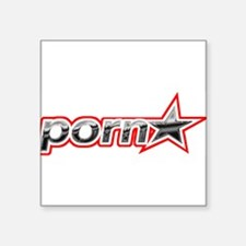 Pornstar Rectangle Sticker