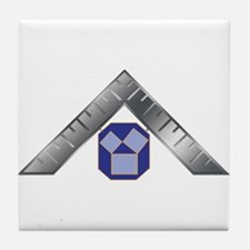 PA Past Master Tile Coaster