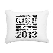 Grunge Class of 2013 Rectangular Canvas Pillow