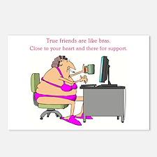 TRUE FRIENDS... Postcards (Package of 8)