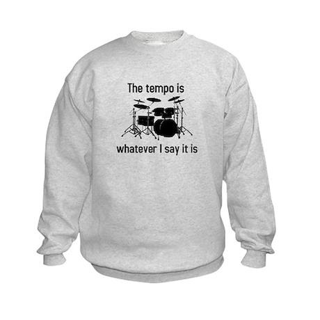 The tempo is Kids Sweatshirt