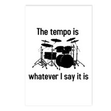 The tempo is Postcards (Package of 8)