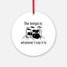 The tempo is Ornament (Round)