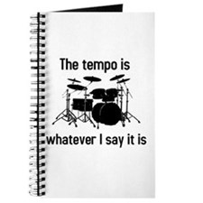 The tempo is Journal