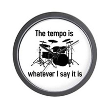 The tempo is Wall Clock