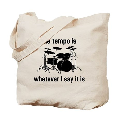 The tempo is Tote Bag