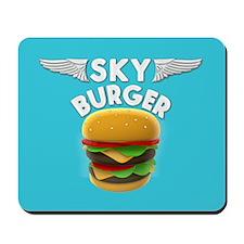 Sky Burger Logo Mousepad