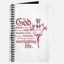Bible Verse John 3:16 Journal