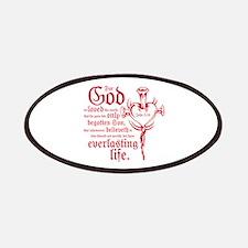 John 3:16 Patch