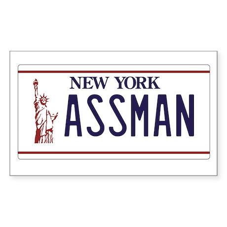 ASSMAN Sticker (Rectangle)
