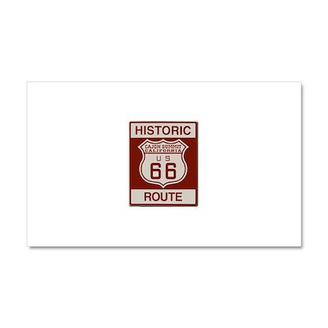 Cajon Summit Route 66 Car Magnet 20 x 12