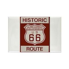 Cajon Summit Route 66 Rectangle Magnet
