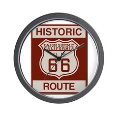 Cajon Summit Route 66 Wall Clock