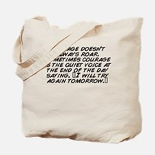 Cute Courage Tote Bag