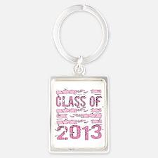 PINK Class of 2013 Portrait Keychain
