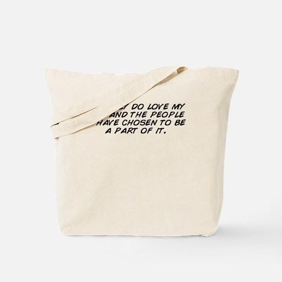 My part Tote Bag