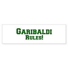 Garibaldi Rules! Bumper Bumper Sticker