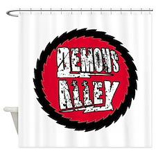Demons Alley Fireball Shower Curtain