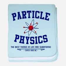 Particle Physics baby blanket