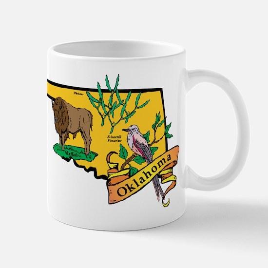 Oklahoma Map Mug
