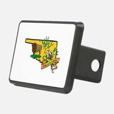 Oklahoma Map Hitch Cover