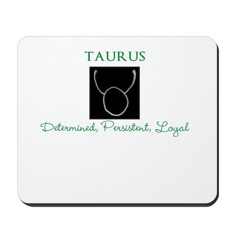 Taurus Qualities Mousepad