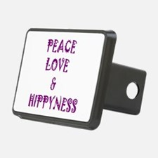 Peace, Love and Hippyness Hitch Cover