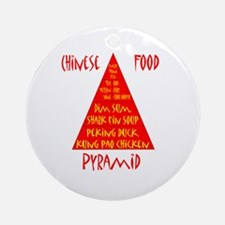 Chinese Food Pyramid Ornament (Round)