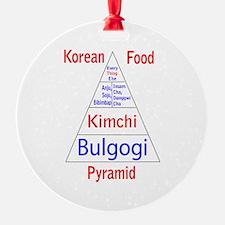 Korean Food Pyramid Ornament