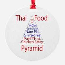 Thai Food Pyramid Ornament